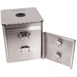 Square-Wall-Mounted-Stainless-Steel-Dispenser-Fitting