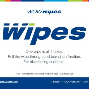 WOW Wipes® Colour Wall Sign - Free Download A5