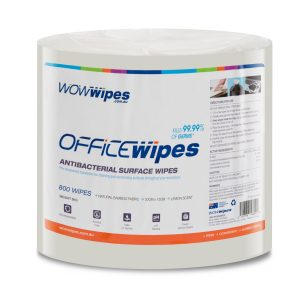 WOW Wipes® Office Wipes Bamboo Fabric Refill Roll - 800 Wipes