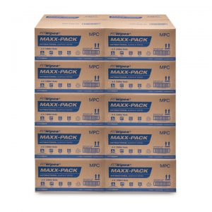 WOW Wipes® Bulk Buy 'MAXX-PACK' Antibacterial Wipes – 10 x Cartons:  2.68c Per Wipe
