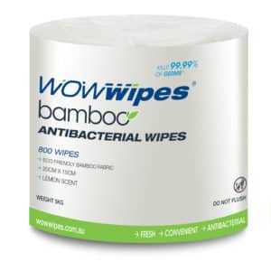 WOW Wipes® WOW Wipes Bamboo Fabric Refill Roll - 800 Wipes