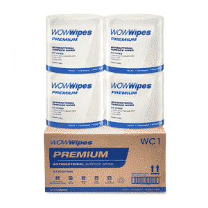 WOW Wipes® Antibacterial Wipes 'PREMIUM' 4 x 810 Wipes: use WIPES30 for 30% off